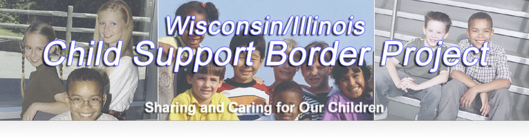 Banner: Child Support Border Project